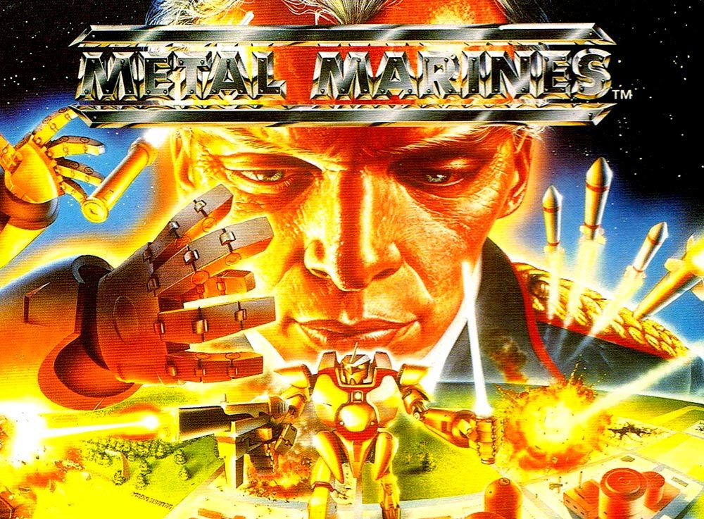 1990s 90s nineties super nintendo snes metal marines metal marines