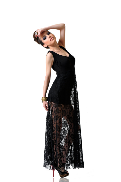 Long Lace Maxi Tank Top By Dominique Ansari    SHOP IT HERE