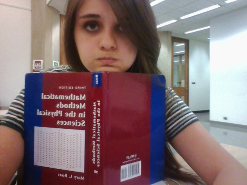 weekly tuesday library selfie