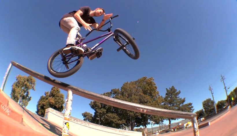 "Kevin Kiraly ""Park Life"" on Crooked World BMX!"