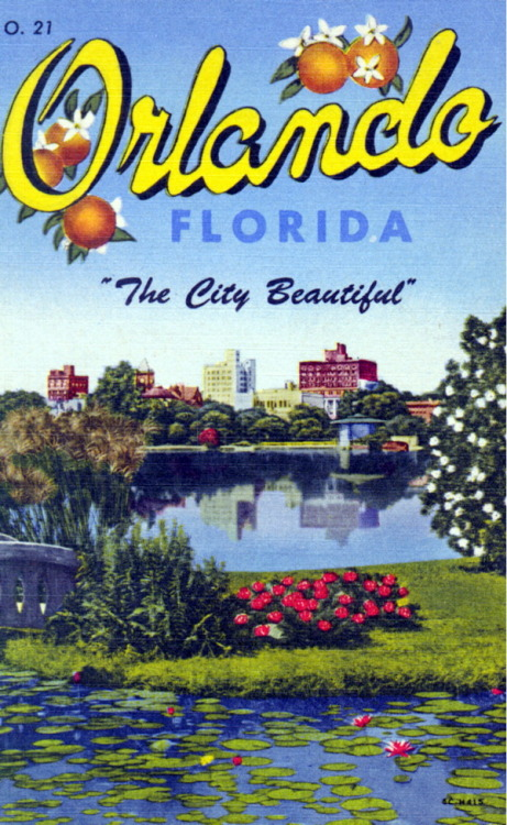 oldflorida:  Greetings from the City Beautiful
