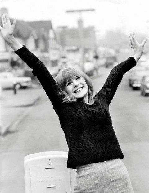 MARIANNE FAITHFULL (Londres, 1965) (Via modrules)  Marianne, London 1965