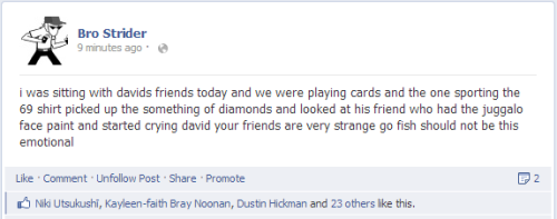 dirkology:  this is the best and worst status update i have ever made