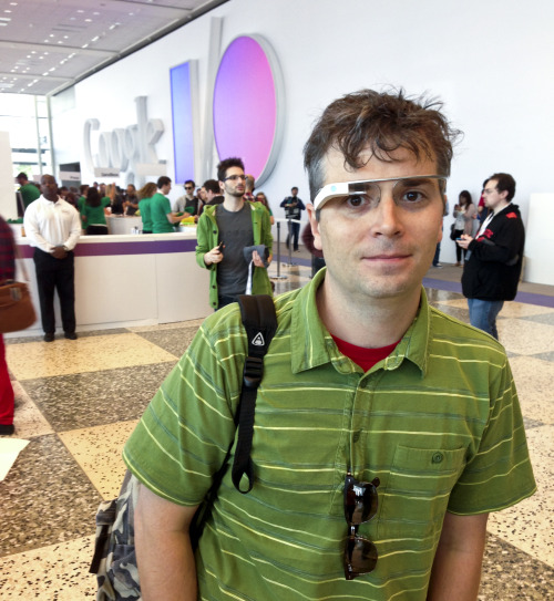 We went to Google I/O, and all we got were these lousy Glasses. ::winky face emoji::