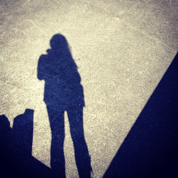 #cement #shadows #selfie