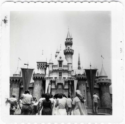 Sleeping Beauty Castle, Disneyland, 1955 (x)