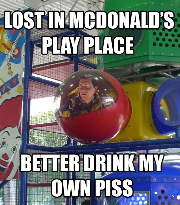 Lost in McDonald's Play Place