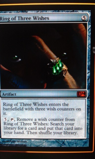 addictedtoedh:  Yeah, this has EDH all over it… Found on MTGSalvation here:http://m-tg.co/2ypqy