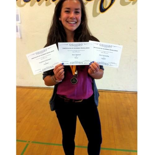 Honor Roll, Most Improved in Dance, Most Outstanding in English, & Exceptional Achievement in Academics 😊 #imsoasian