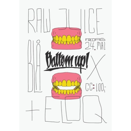 Next up @blaaoslo 🔊🔊 @ballemupballemup x @rawjuice_ 🔊🔊