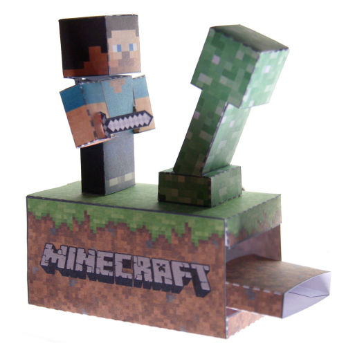 Minecraft Paper Machine Instructable - DIYFrom kamibox creator of the Psy papercraft ; now you can bring hacking creepers into the real world!View Post