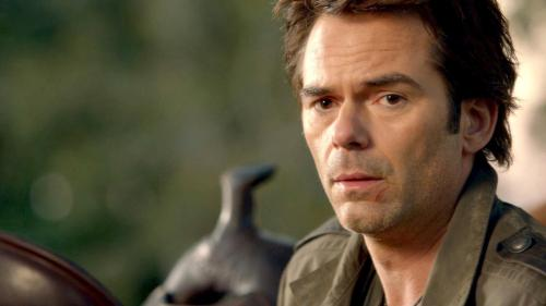 nbcrevolution:  REBLOG if you think Billy Burke is a BADASS!   hell ya