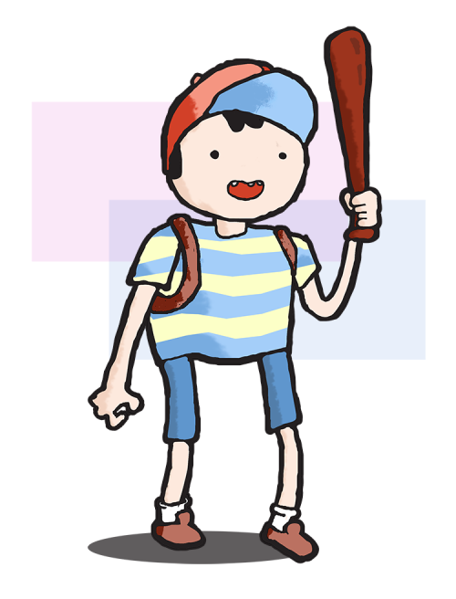 Ness from Earthbound.