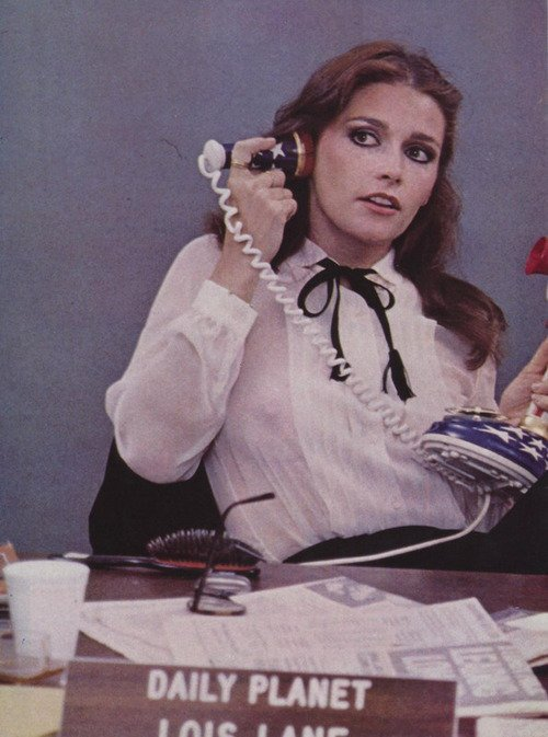 houseofsushi:  Margot Kidder as Lois Lane