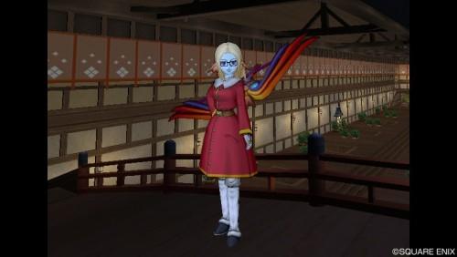すざくの弓に似合う隊服っぽい服装