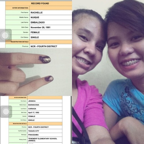our first voting, so tiring but worth it.. grabe 4hrssss..