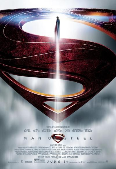 danhacker:  New 'Man of Steel' Poster Another day, another new 'Man of Steel' poster.