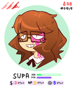 supartomic:  quick portrait card for the about me page!