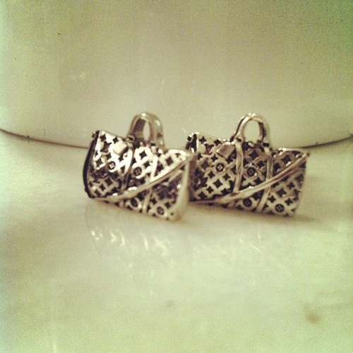 ❤ LV Bag Cufflinks ❤