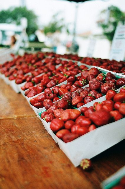 8birds:  market berries by oceanerin on Flickr.