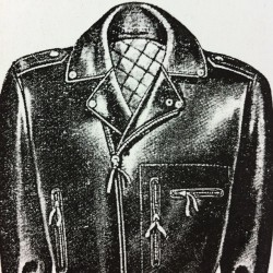 november-blog:  motorcycle jacket, early 60s http://bit.ly/12x1wcH