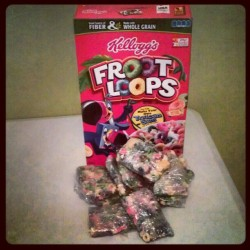 Some  more of them edibles! #Frootloops #Instafood #Instagood #Instagram #Edibles #Cereal