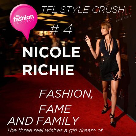 Nicole Richie Our TFL Style Crush #4 this week http://thefashionlocator.com/?p=1425