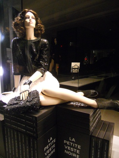 Chanel Paris Christmas winodws 2012