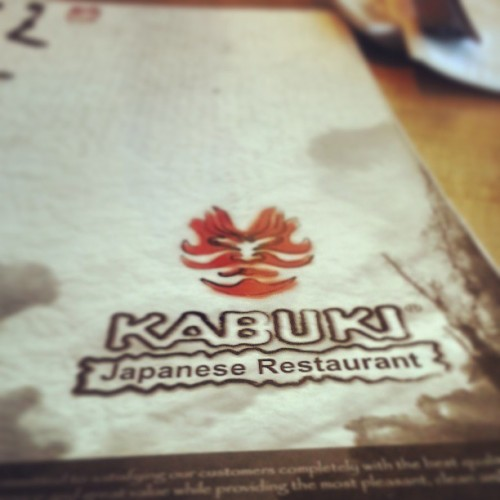 Early mothersday lunch with my momma . #GrindMode tomorrow tho . #Sushi #Kabuki #Saki #TU (at Kabuki Japanese Resturant)