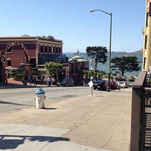 Lovely day in the bay ☺ (at Ghirardelli Square)