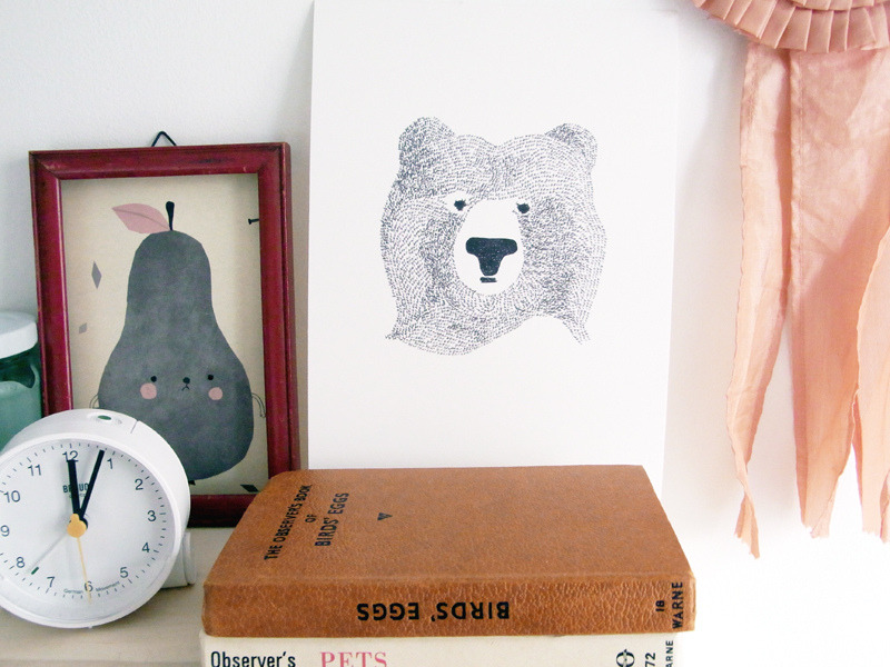m-ty:  in my studio (with pirumparum and bear) (by la Casita (alessandra &co))