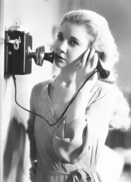 Una Merkel in The Maltese Falcon, 1931