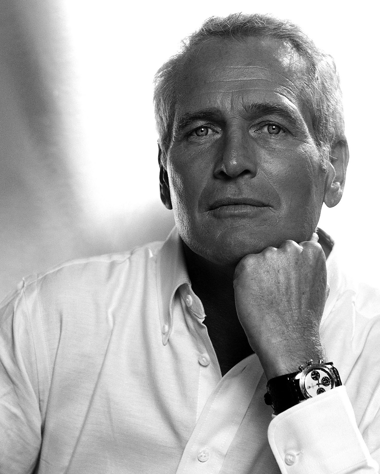 The Man Who Loved The Polo Collar Shirt. Paul Newman.