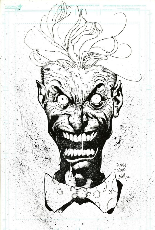 comicblah:  Joker by David Finch