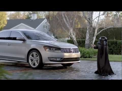 [Video] Darth Vader Uses The Force on Volkswagen CarThat kid is so adorable! Das auto tricks Darth Vader.