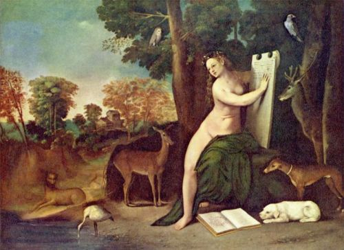 Circe and Her Lovers in a Landscape, by Dosso Dossi