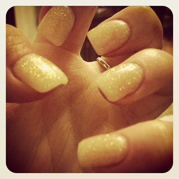 New sparkle #nails