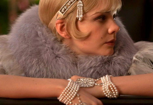styledrama:  Tiffany & Co. dresses Daisy Buchanan (Carey Mulligan) in The Great Gatsby. Photo: Warner Bros.