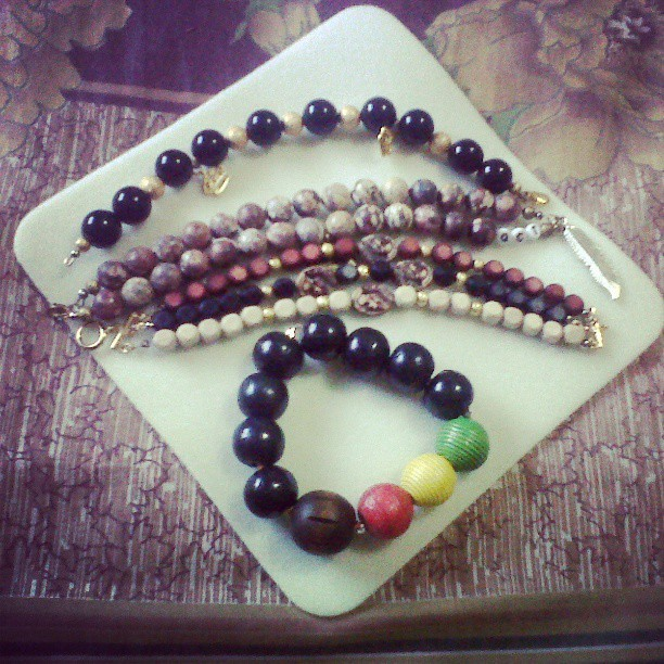 Boredom + Creativity = These. Ness & Sule had pieces made as well. What you think?