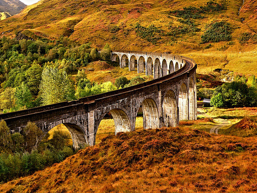 pagewoman:  Glenfinan Viaduct,Scotland photo by pd12h