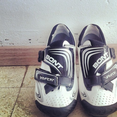 I'm no dancing penguin but I have happy feet @BontCycling