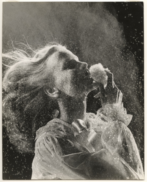 Powder Puff (Vogue) by Gjon Mili, 1945