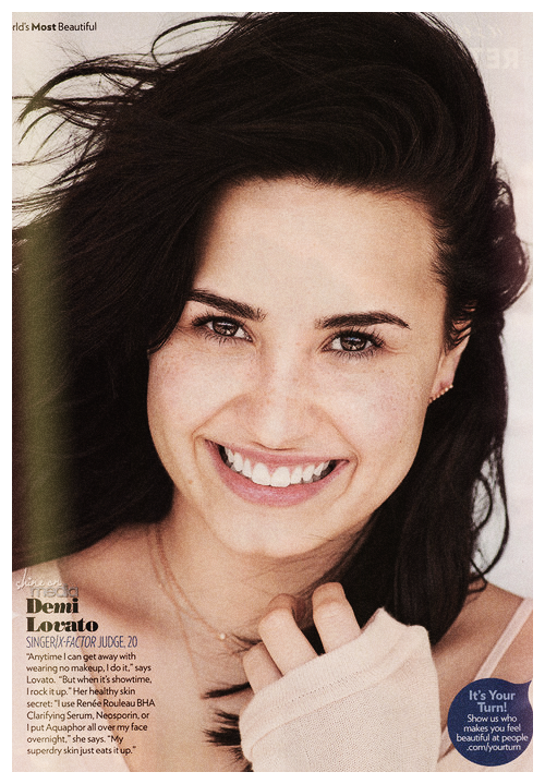 demism:   People's Most Beautiful : Demi Lovato