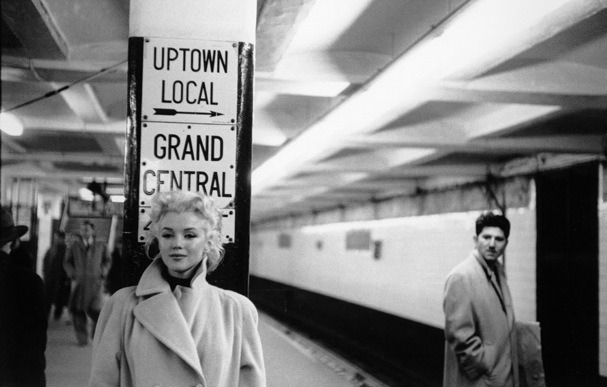 "beautilation:  ""I'll never forget the day Marilyn and I were walking around New York City, just having a stroll on a nice day. She loved New York because no one bothered her there like they did in Hollywood, she could put on her plain-jane clothes and no one would notice her. She loved that. So as we we're walking down Broadway, she turns to me and says 'Do you want to see me become her?' I didn't know what she meant but I just said 'Yes'- and then I saw it. I don't know how to explain what she did because it was so very subtle, but she turned something on within herself that was almost like magic. And suddenly cars were slowing and people were turning their heads and stopping to stare. They were recognizing that this was Marilyn Monroe as if she pulled off a mask or something, even though a second ago nobody noticed her. I had never seen anything like it before."" - Amy Greene, wife of Marilyn's personal photographer Milton Greene"