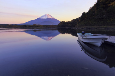 Mount Fuji Sunset (via Beta Photography)