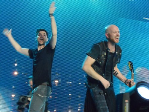 Danny & Mark, 15th March 2013, Motorpoint Arena, Sheffield, UK.Their faces though :)