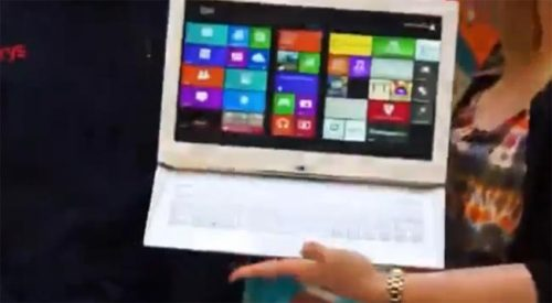 New Sony Slider Windows 8 Tablet Leaked (Video) It looks like Sony has a new 13 inch slider tablet in the works, as a leaked video showing the…View Post