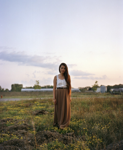Melanie just outside of my house, 2012.  i'm headed to do 9 20x24 colour darkroom prints today as a part of my final project from last semester. Although this is not one of them I'm stoked to finish it up today as I've a shit ton of work to do still for the other classes that I missed while I was out.
