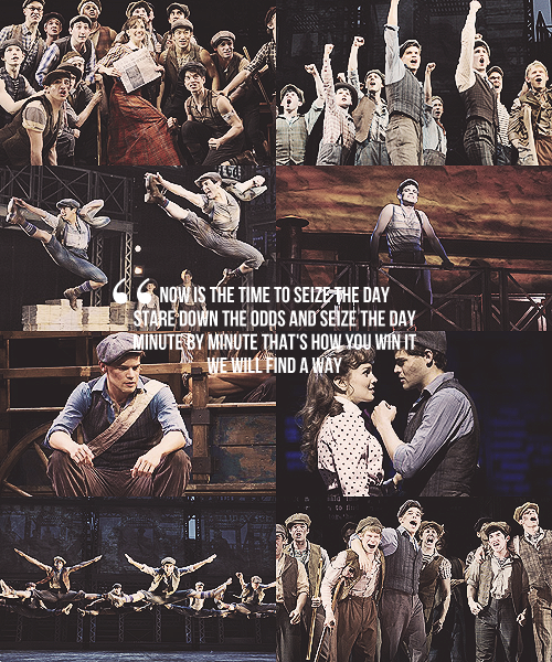 norbertleobutt:  List of flawless musicals 9/?  Newsies