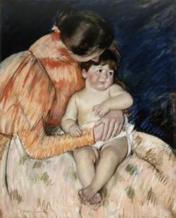 artmastered:  Mary Cassatt, Mother and Child, 1890s
